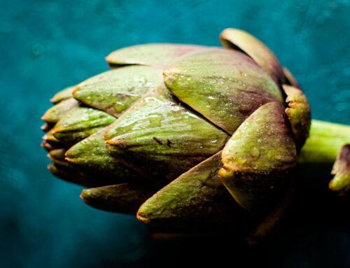Alcachofas… delicadas y saludables